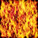 Vector fire flame texture Royalty Free Stock Photography