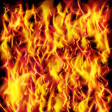 Vector fire flame texture Royalty Free Stock Images