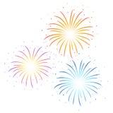 Vector Firework illustration Stock Photo
