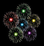 vector fireworks Stock Photos