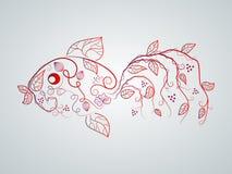 Vector Fish Royalty Free Stock Photo