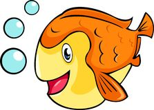 vector fish illustration Stock Photo