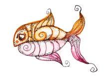 Vector fish, Royalty Free Stock Photos