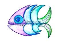 Vector fish, Stock Photo