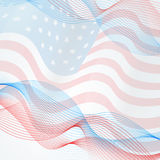 Vector flag background Royalty Free Stock Photo