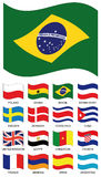 Vector Flag Collection stock illustration