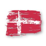 Vector Flag Denmark Stock Images