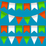 Vector flag garland Stock Image