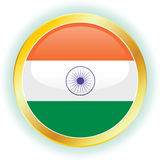 Vector Flag Of India Stock Photos