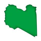 Vector Flag Libya Stock Images