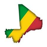 Vector Flag Mali Royalty Free Stock Photo