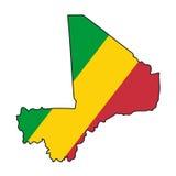Vector Flag Mali Royalty Free Stock Image