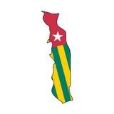 Vector Flag Togo Royalty Free Stock Photo