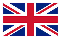 Vector flag of the United Kingdom standard Royalty Free Stock Photo