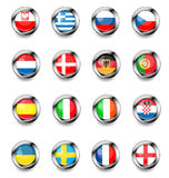 Vector flags Royalty Free Stock Photography