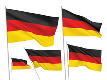 Vector flags of Germany Royalty Free Stock Images