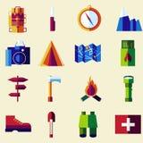 Vector flat color icon set. vector illustration