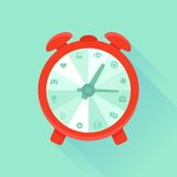 Vector flat concept - time management Stock Photo