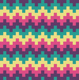 Vector Flat Design Chevron Ethnic Pattern Abstract Background Illustration. Vector Flat Design Chevron Ethnic Pattern Abstract Background Stock Photography