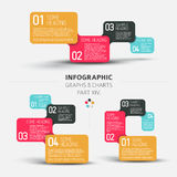 Vector flat design infographic elements Stock Photo