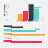Vector flat design infographic elements Stock Images