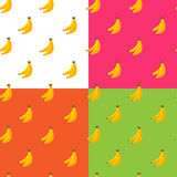 Vector flat fruits seamless pattern Stock Images