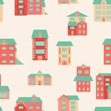 Vector flat houses Royalty Free Stock Image