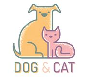 Cat and dog. Royalty Free Stock Photo