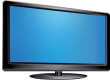 Vector - Flat screen tv Stock Photos
