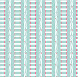 Vector flat seamless patterns Stock Photography