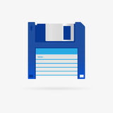 Vector floppy disc icon Royalty Free Stock Image