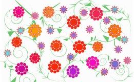 Vector floral Fotografía de archivo libre de regalías