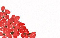 Vector floral abstracto de Sakura Flower Japanese Natural Background Imagen de archivo libre de regalías