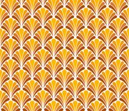 Vector Floral Art Deco Style Seamless Pattern. Abstract Ornament Background. Classic Art Deco Seamless Pattern. Geometric Stylish Texture. Abstract Retro Vector stock illustration