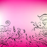 Vector floral background Royalty Free Stock Image