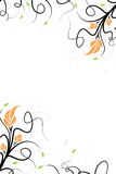 Vector floral background Stock Photography