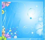 Vector floral background vector illustration