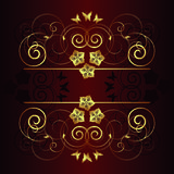 Vector floral background Royalty Free Stock Photography