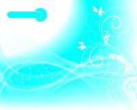 Vector floral background stock illustration