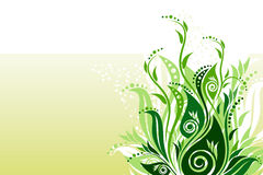 Vector floral background stock images