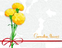 Vector floral background design Royalty Free Stock Image