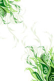Vector floral background illustration stock image