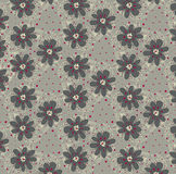 Vector  floral background, pattern Royalty Free Stock Images