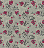 Vector  floral background, pattern Stock Photography