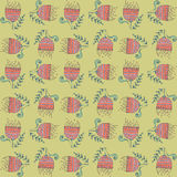 Vector  floral background, pattern Stock Photos