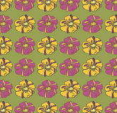 Vector  floral background, pattern Royalty Free Stock Image