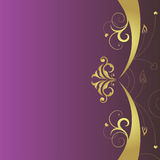 Vector floral background, perfect for different de. Sign Royalty Free Illustration