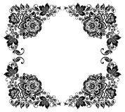Vector floral background. Russian traditional Royalty Free Stock Image