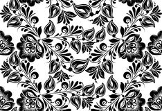 Vector floral background. Russian traditional Stock Image