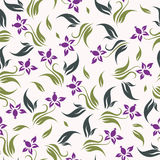 Vector floral background seamless Royalty Free Stock Images